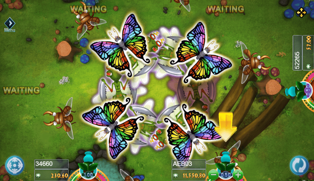 INSECT PARADISE เกมยิงแมลงออนไลน์กำไรงามๆ รูปแบบใหม่ 2019